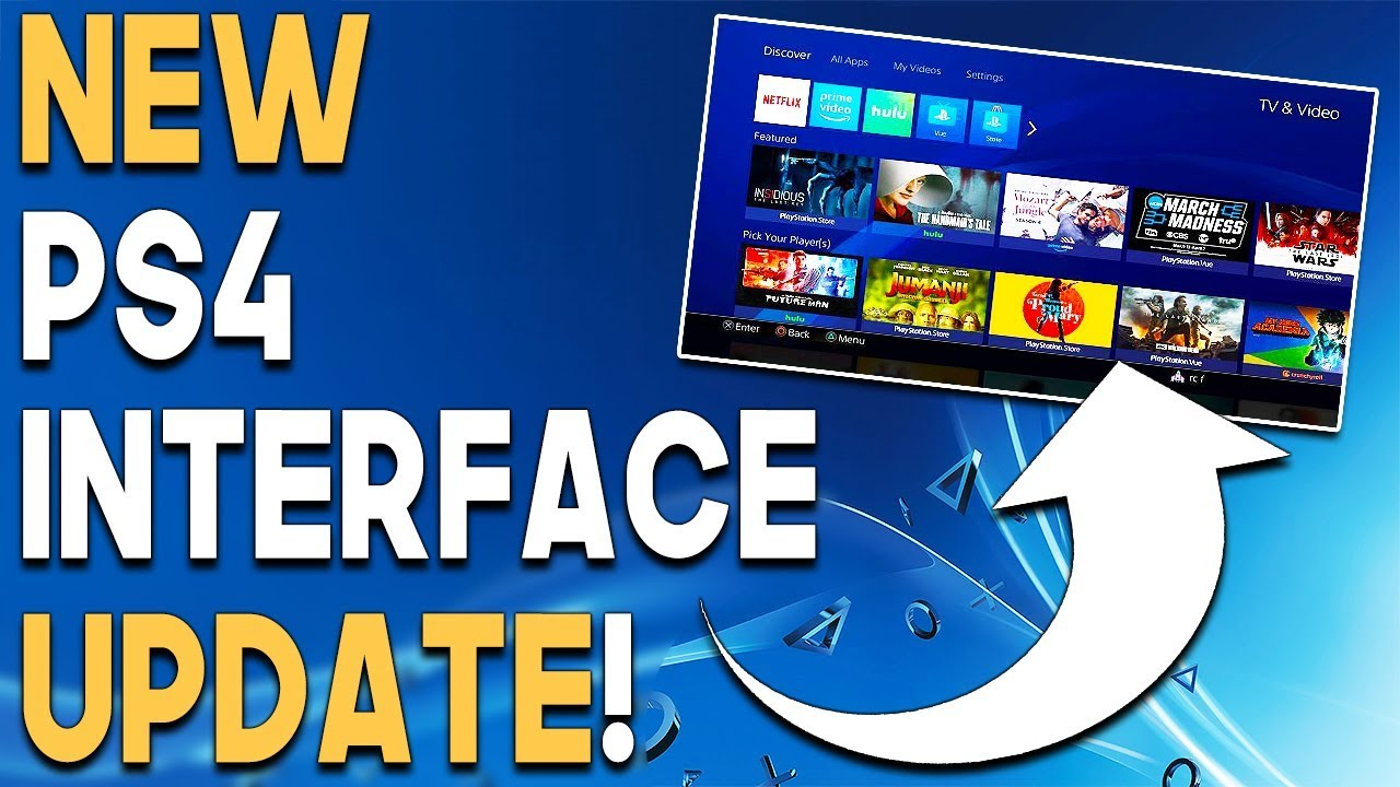 NEW PS4 Interface UPDATE and AWESOME PS4 GAME DEALS! - YouTube