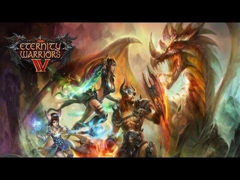 Eternity Warriors 4 (by Glu Games Inc.) - iOS / Android - HD (Sneak Peek) Gameplay Trailer