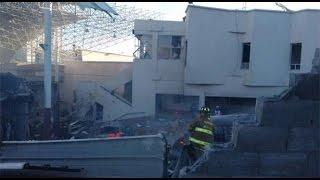 FUERTES IMÁGENES!! Explosión en Hospital Materno Infantil de Cuajimalpa