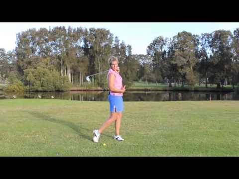 #31 The Lady Golf Teacher Web TV: How to Turn in Your Golf Swing