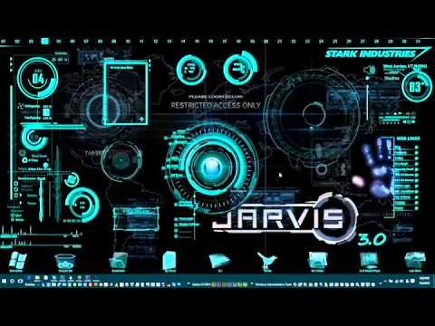 J.A.R.V.I.S. 3.0 on my Windows 10 - YouTube