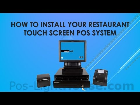 Restaurant Touch Screen POS System - How To Install
