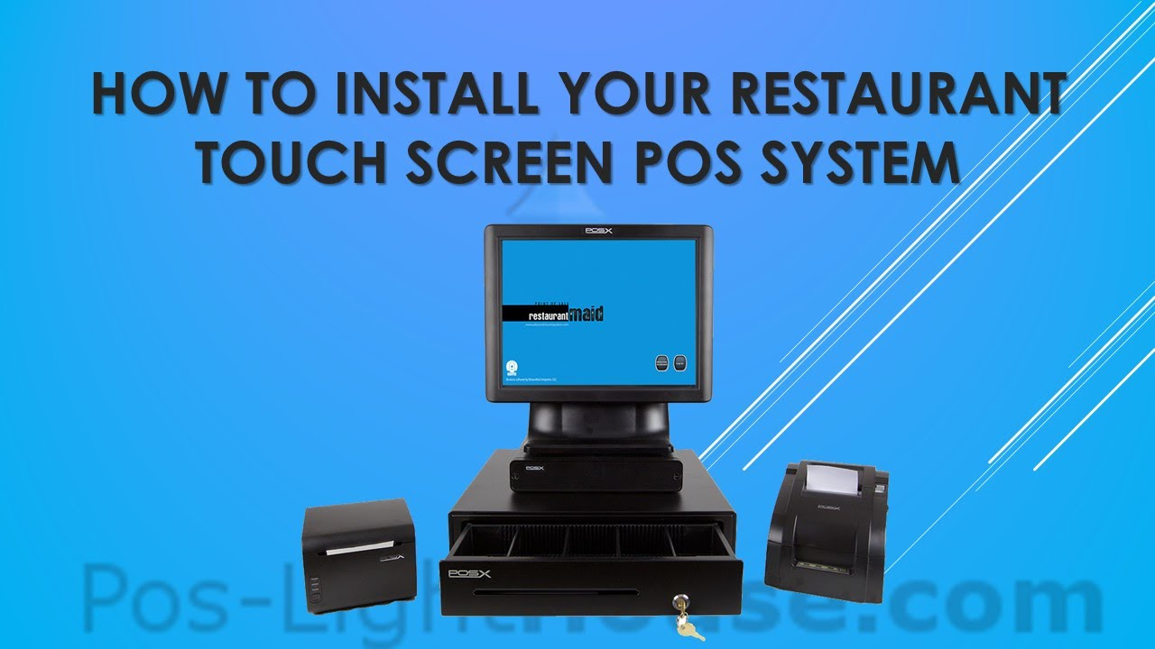 Restaurant Touch Screen Pos System How To Install Youtube