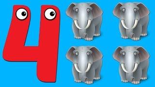 ვისწავლოთ დათვლა 1-10 სასწავლო ვიდეო ბავშვებისთვის. Viscavlot datvla 1-10 sascavlo video