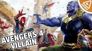 Did The Thanos Origin Novel Reveal the Avengers 4 Villains? (Nerdist News w/ Amy Vorpahl)
