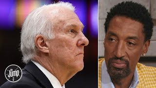 Gregg Popovich is losing 'his coaching feel' because of the 3-pointer - Scottie Pippen | The Jump