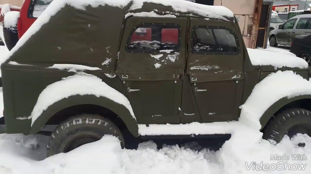 """ГАЗ 69 восстановление! Новый видео проект: ГАЗ 69 """"А"""" 4х4 Off Road внедорожник - Автопоисковик!"""