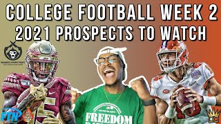2021 NFL Draft Prospects to Watch Week 2 | 2020 College Football