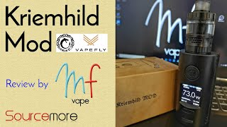 Kriemhild Mod by Vapefly & German 103 | Dual 21700 | Fits 30mm | Full Review