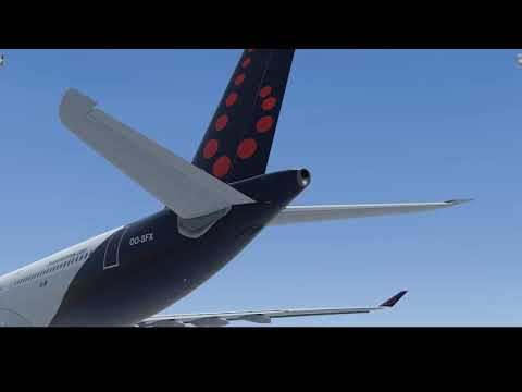 Brussels Airlines A330 Departing Banjul, Gambia[P3D V4]