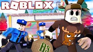 ROBBING A STORE IN ROBLOX! (ROBLOX JAILBREAK)
