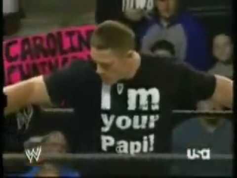 جون سينا ضد راندي اورتن مصارعة رهيبة
