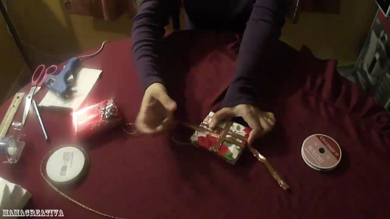 Tutorial de regalitos como ornamentos para navidad youtube - Ornamentos de navidad ...