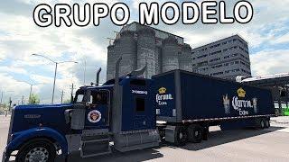 TRABAJAMOS PARA GRUPO MODELO! RUMBO A TLALTENANGO | Mapa Mexico | Kenworth W900 | ATS