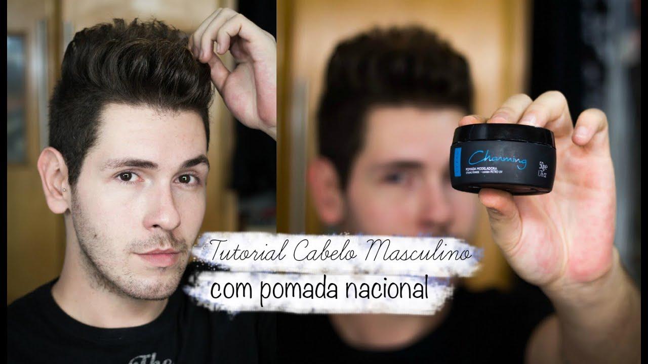 902af82cc CABELO MASCULINO - POMADA NACIONAL TOP