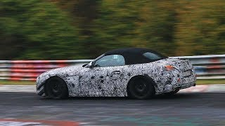 2018 BMW Z4 & Toyota Supra Testing On The Nürburgring!