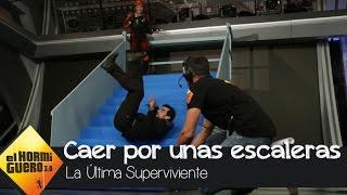 Patricia Montero nos enseña a caer bien por las escaleras - El Hormiguero 3.0