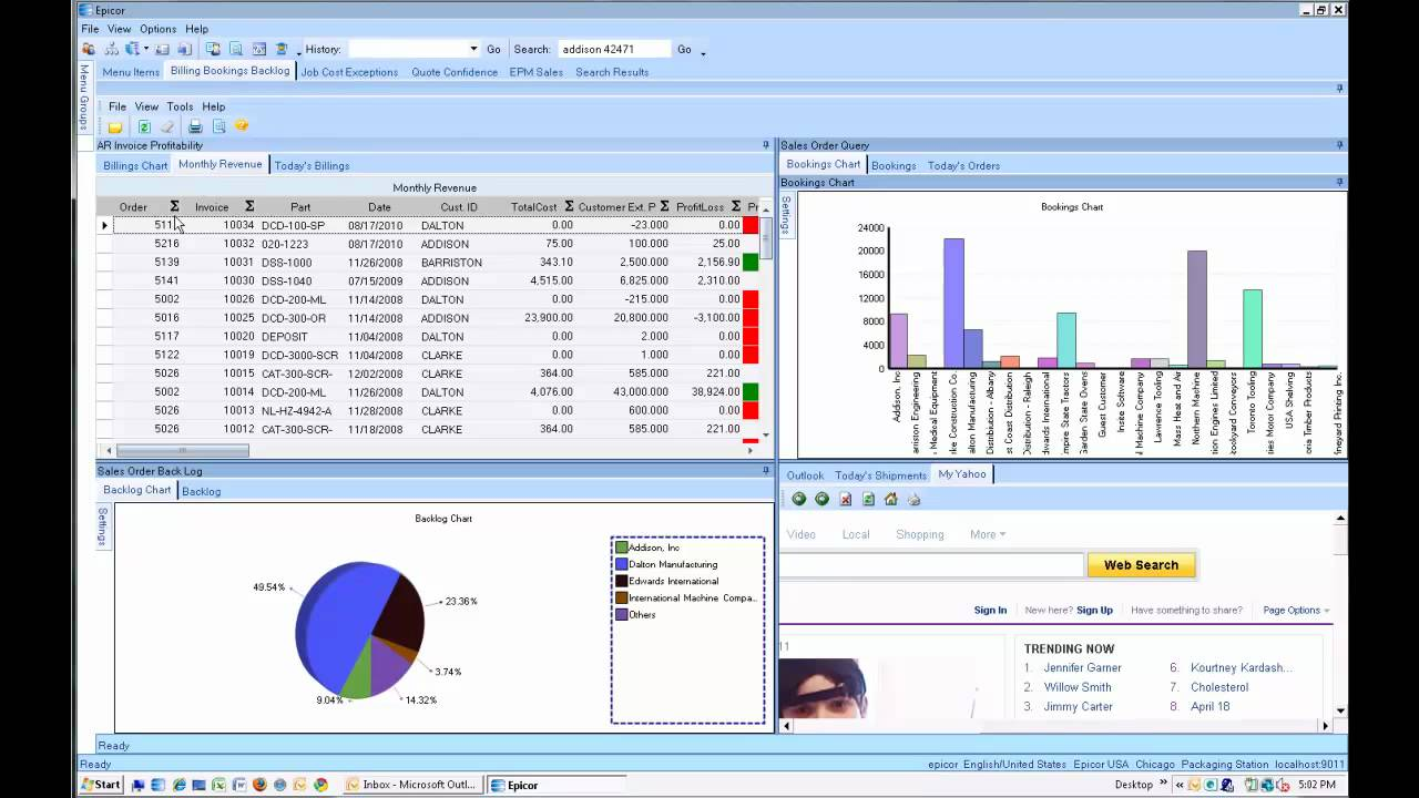Epicor ERP 9 Demo and Training Video Site - YouTube