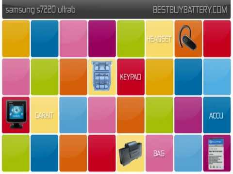 Samsung s7220 ultrab www.bestbuybattery.com