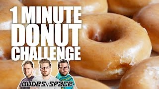 60 Second Donut Challenge - BreakFest 2016 - Dudes N Space