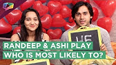 Randeep Rai And Ashi Singh From Yeh Unn Dino Ki Baat Hai Play Who Is Most Likely To?