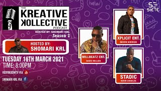 The Kreative Kollective Podcast: The Producers Rountable hosted by Shomari KRL