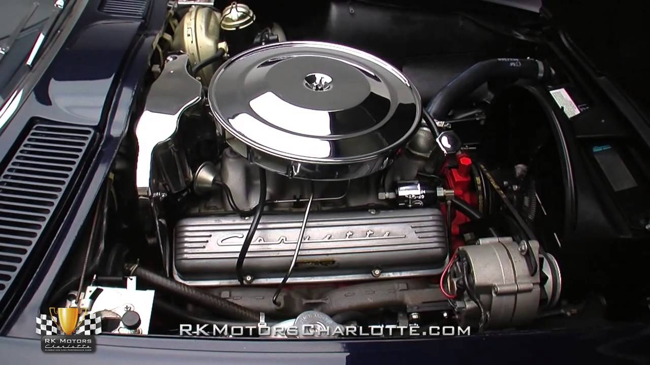 134166 1964 Chevrolet Corvette Sting Ray YouTube