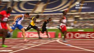 100m Heat 2 Golden Gala 2011 Rome