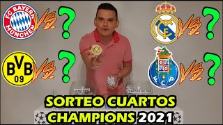 ?SORTEO Cuartos CHAMPIONS League 2021? (Simulación)