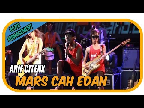 MARS CAH EDAN - ARIF CITENX [ OFFICIAL KARAOKE MUSIC VIDEO LIVE BALI]