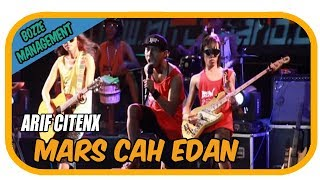Arif Citenx - Mars Cah Edan [Official Music Karaoke Video] Live Bali