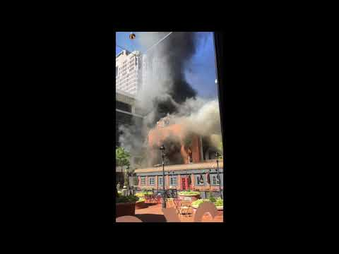 Trinity Bar Building Fire 2017