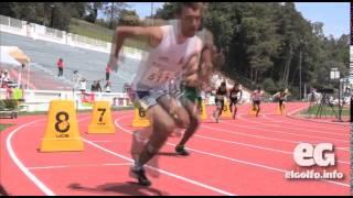 Bryan Martínez vuela en los 800 metros planos