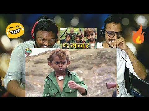 Download CHOTU GABBAR REACTION | Khandesi Hindi Comedy | Shafik Chotu
