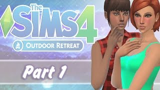 Let's Play: The Sims 4 Outdoor Retreat - (Part 1) - Into The Woods