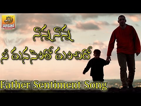 Nanna Nanna Song - Nanna Nanna Folk Song | Father Sentiment Song | Folk Songs | Telangana Folk Songs