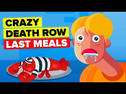 Death Row Prisoners Crazy Last Meals