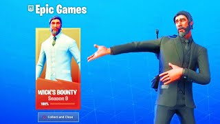 THANK YOU FORTNITE DÉBLOQUER THIS SKIN NOW - SALE THE COMBAT PASS