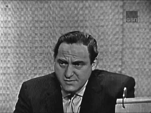 What's My Line? - Sid Caesar; Martin Gabel [panel] (May 19, 1963)