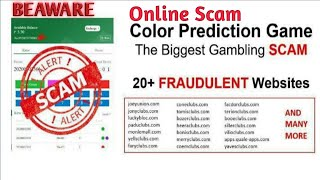 ONLINE COLOR PREDICTION BIGGEST SCAM IN INDIA - BE AWARE YOUTH FROM ONLINE GAMBLING screenshot 5