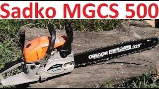 видео Бензопила Sadko GCS-510E PRO с профессиональной комплектацией. Бесплатная доставка по Украине.