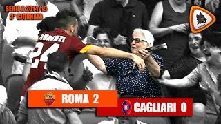 Video Gol Pertandingan AS Roma vs Cagliari