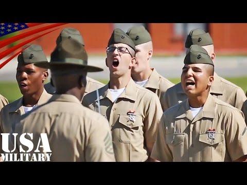 アメリカ海兵隊ブートキャンプ(新兵訓練)・パリスアイランド - US Marines Boot Camp at Parris Island