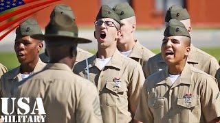 アメリカ海兵隊の新兵訓練(通称ブートキャンプ) 海兵隊に入隊する下士官...