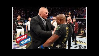 WWE RAW: Kurt Angle discusses Brock Lesnar and Daniel Cormier UFC feud
