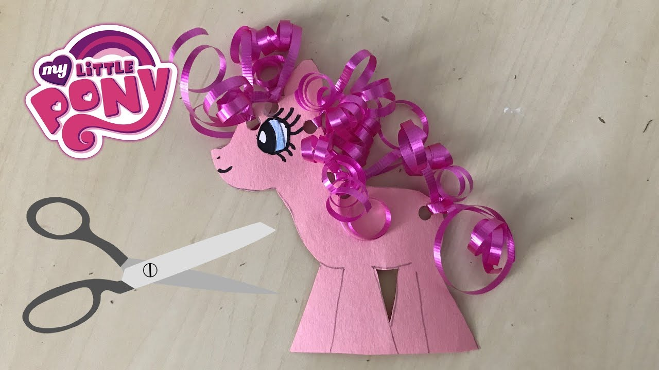 Diy Crafts How To Make My Little Pony Out Of Paper Youtube