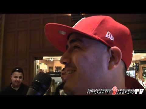 Brandon Rios makes broadcast debut by interviewing Kelly Pavlik