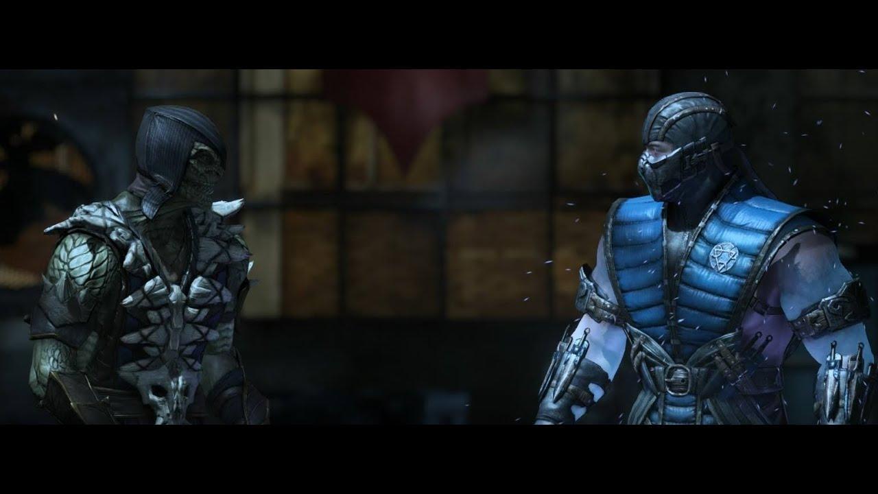 Mortal Kombat X: Reptile VS Sub-Zero DUBLADO PT/B - YouTube