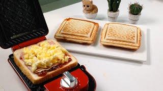 샌드위치 메이커로 만드는 초간단 토스트 / 피자토스트 …