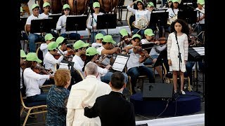 Los recuerdos de los niños que han sido bendecidos por Francisco - CHV NOTICIAS